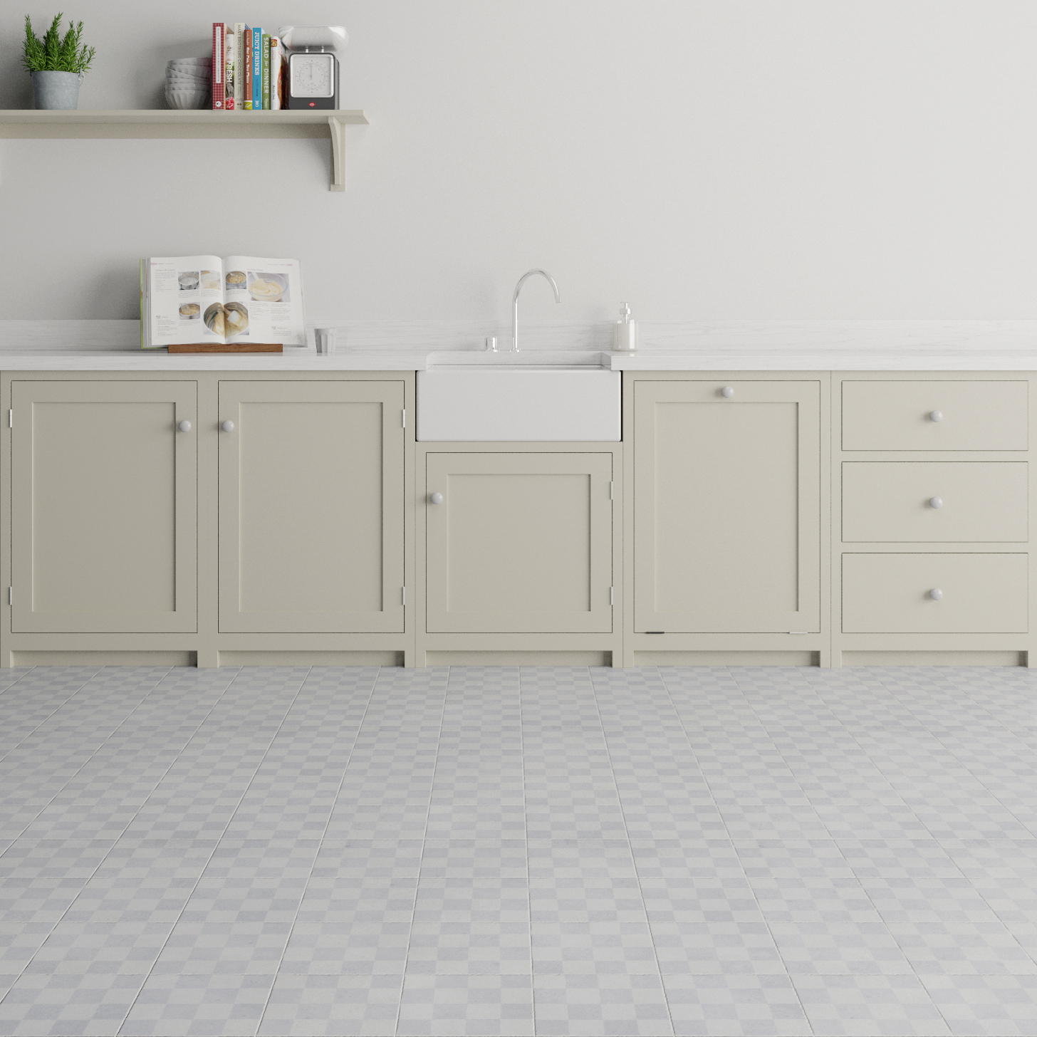 Chequered Kitchen